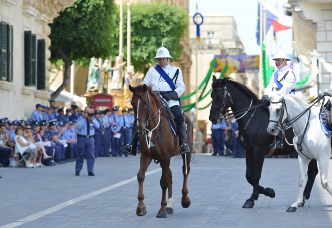 [WATCH] Police force celebrates 201st anniversary of its foundation