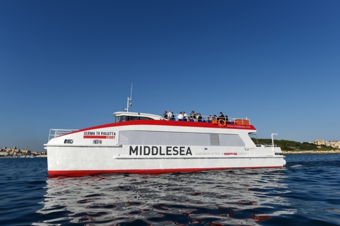 The ferry will carry passengers between Sliema and Valletta • Photos by Ray Attard