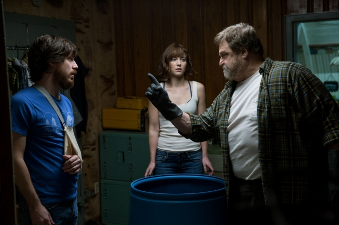 Don't anger the bear: John Gallagher Jr, Mary Elizabeth Winstead and John Goodman are at the top of their game in this twisty, claustrophobic genre-bender