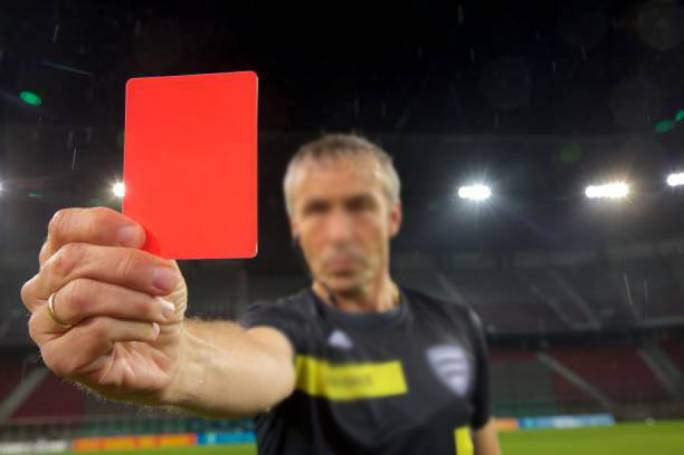 Football refs give Gzira FC boss the red card