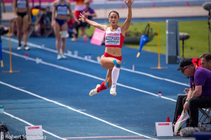 Triple jumper Claire Azzopardi breaks own national record in less than three months