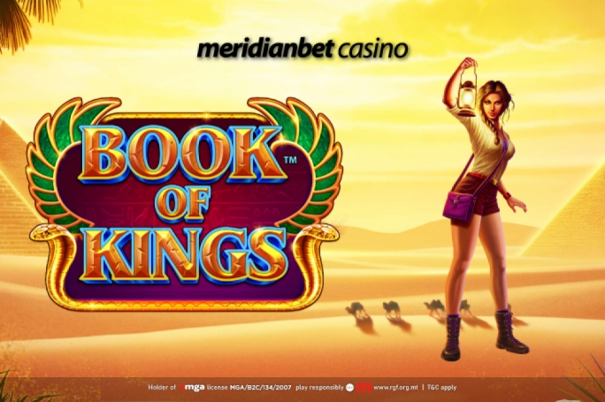 Step into the Ancient Egypt with Meridianbet Casino