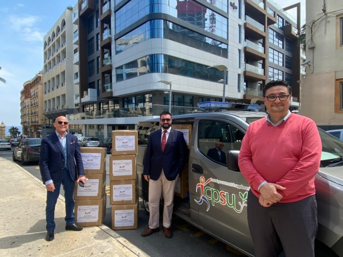 Coronavirus: Malta-based company donates 20,000 surgical masks to health authorities