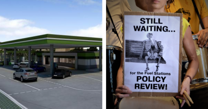 Moviment Graffitti resort to email campaign to demand change to fuel stations policy