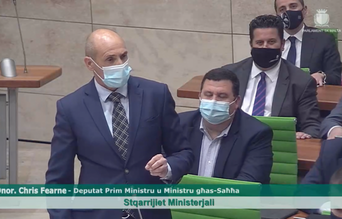 [WATCH] Chris Fearne claims Opposition MP asked him to jump COVID-19 vaccine queue