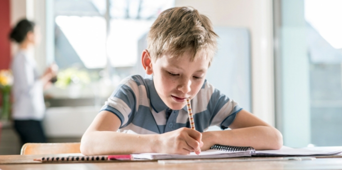 Pupils still sit for exams at the end of the scholastic year, but the final grade will be made up of 40% assessment and 60% from the annual exam