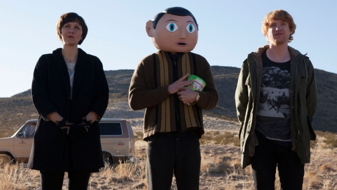 Odd ones in: Maggie Gyllenhall, Michael Fassbender and Domnhall Gleeson in Lenny Abrahamson's strange and heartfelt love letter to musical outsiders