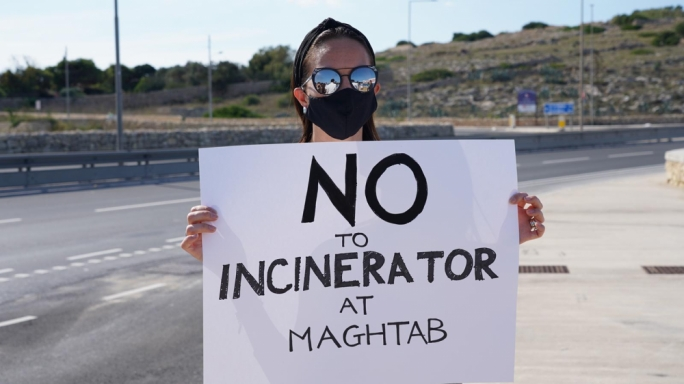 [WATCH] FAA, ADPD's Cacopardo and Maghtab residents rally against incinerator