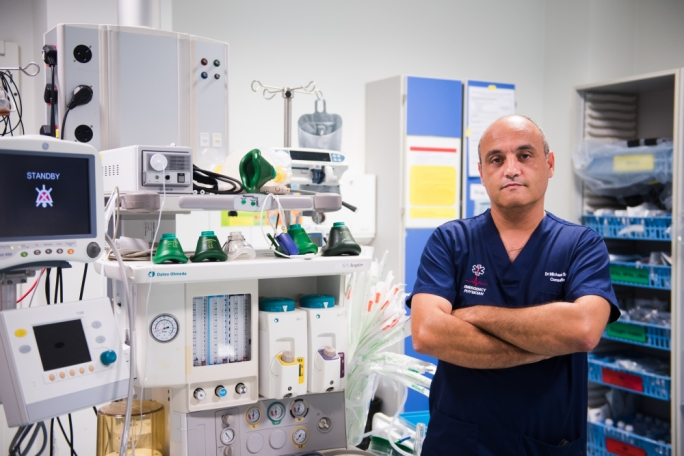 "Michael Spiteri, clinical chairperson at Mater Dei Hospital's Emergency Department, said there was ""no magic button"" solution to relieve the pressure on emergency services caused by intoxicated people"