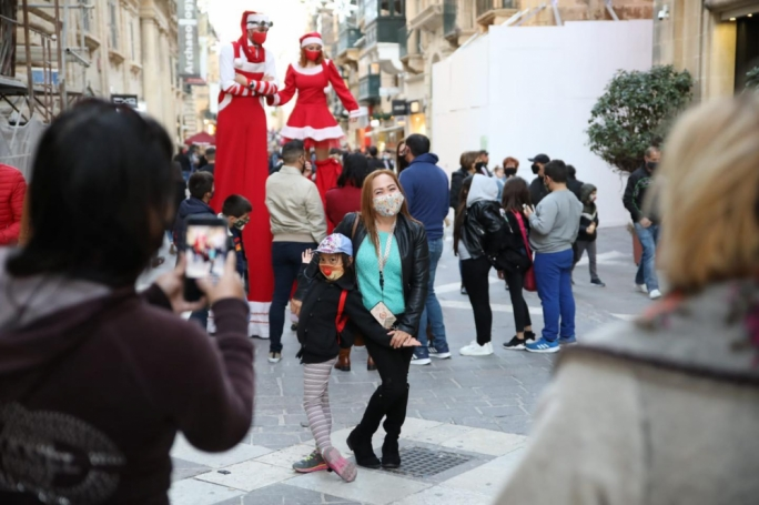 Valletta businesses hoping Christmas will be 'season to be jolly'