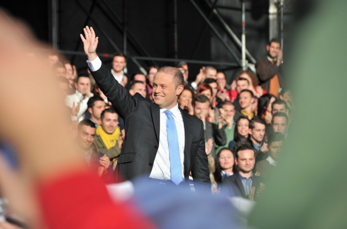 Joseph Muscat still leads Simon Busuttil by 7 points