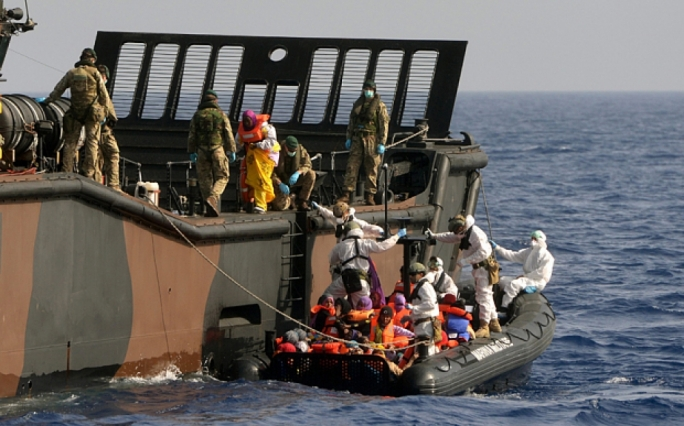 Italy rescues 3,300 migrants in a day • 17 bodies recovered