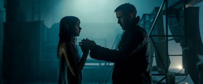Yearning for a connection: Ana de Armas and Ryan Gosling have an existentially problematic relationship in Denis Villeneuve's hypnotic and resonant Blade Runner sequel