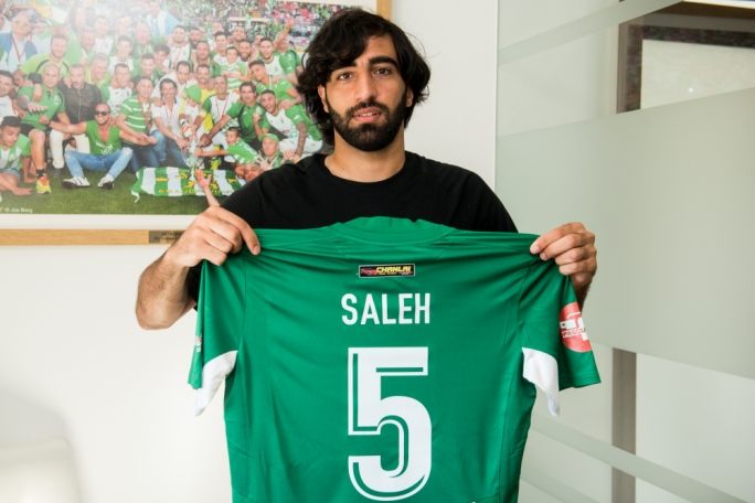 Ready for glory: Mohammed Saleh