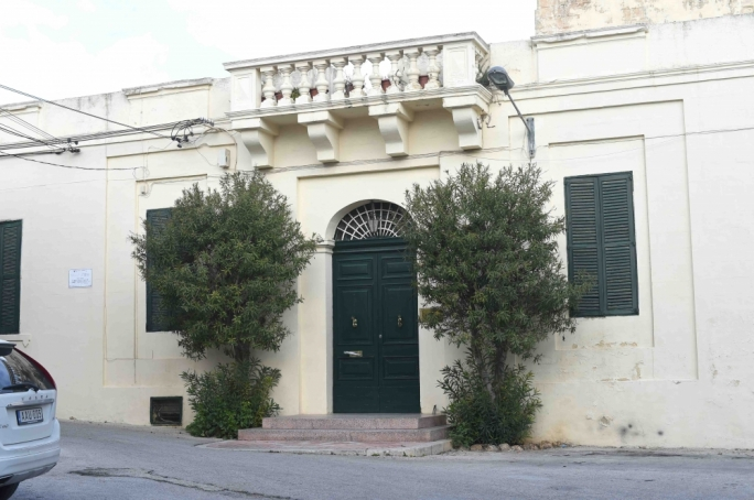 Villa Parisio in Lija - the stately home was bequeathed to Mabel Strickland's nephew Robert but also as the seat for the Strickland Foundation, owners of The Times