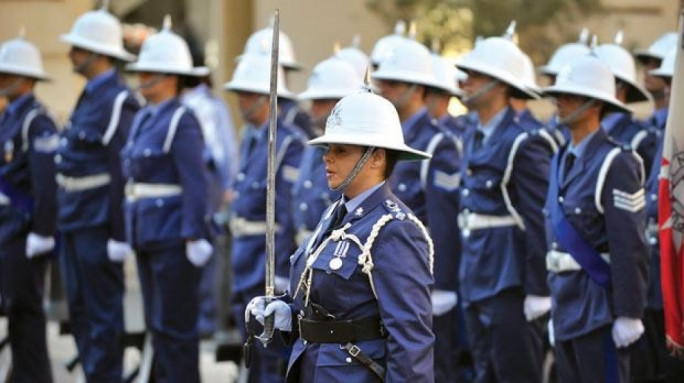 Maltese Police Force organises parade in celebration of anniversary