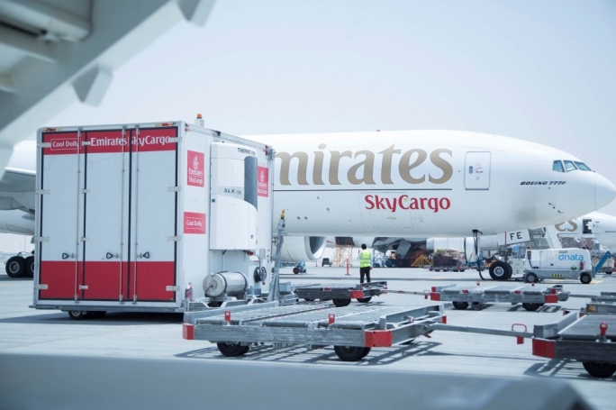 Emirates SkyCargo ships 35,000 tonnes of Cool Chain Products through its new Dubai hub