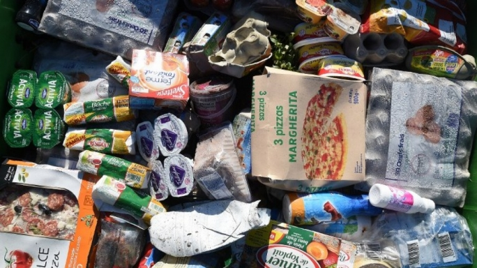 Unsold supermarket food finding its way to charity, staff... and the bin
