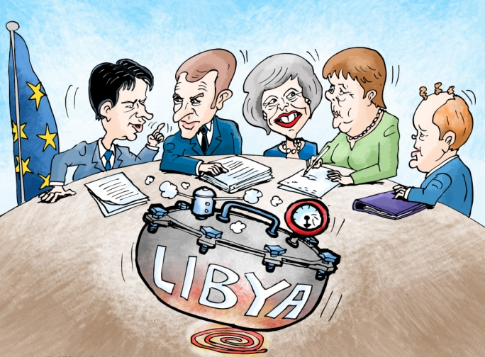 Cartoon by Mikiel Galea