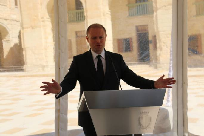 Joseph Muscat presided over the signing