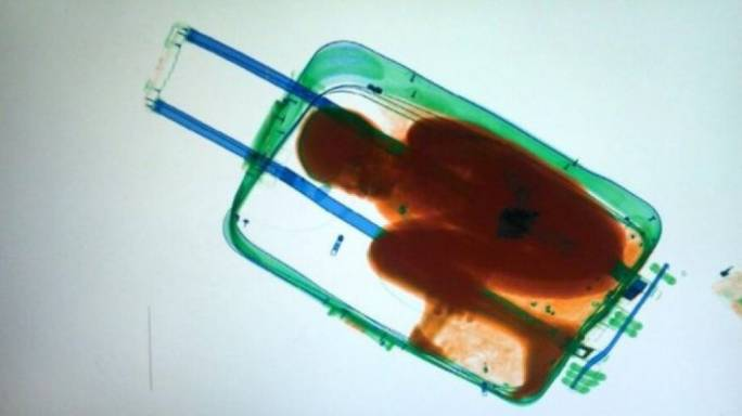 The boy was smuggled into Spain in a suitcase. (Photo: BBC)