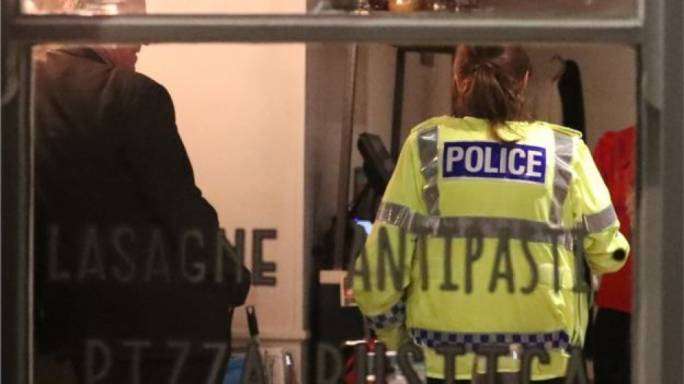 Police said Zizzi restaurant in Salisbury has been closed as a precaution (Photo:BBC)