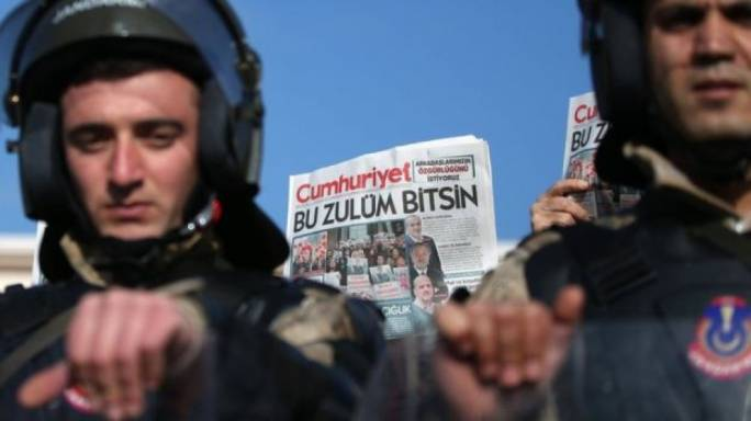 Turkey's treatment of journalists has caused international outrage