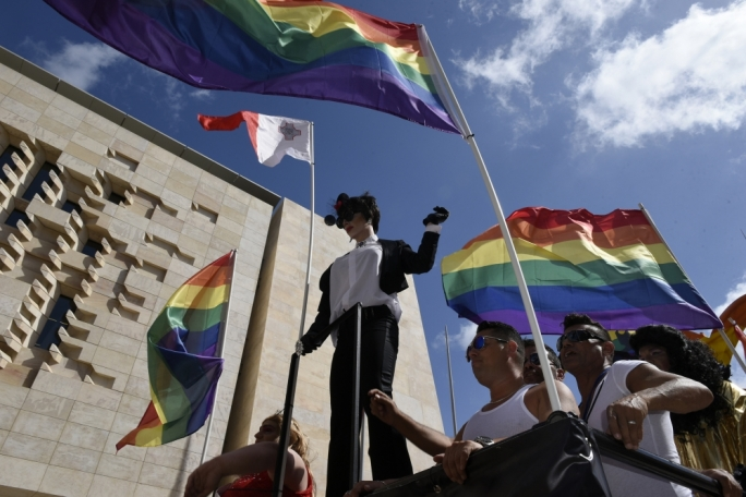 Malta tops world rankings on LGBTIQ rights