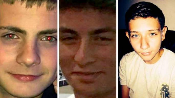George Wilkinson, Harry Rice and Josh McGuinness were killed immediately