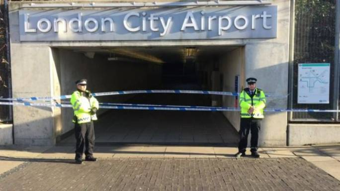 London City Airport has been closed, with scheduled flights cancelled. (Photo:BBC)