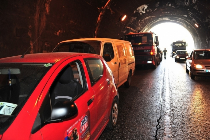Four-car pile-up at St Venera tunnels
