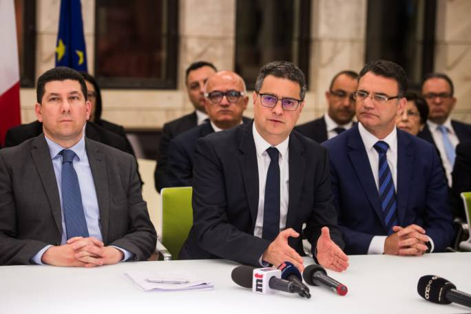 Nationalist Party leader Adrian Delia said the PN would not be speculating but expected answers from the government. Photo: James Bianchi/MediaToday