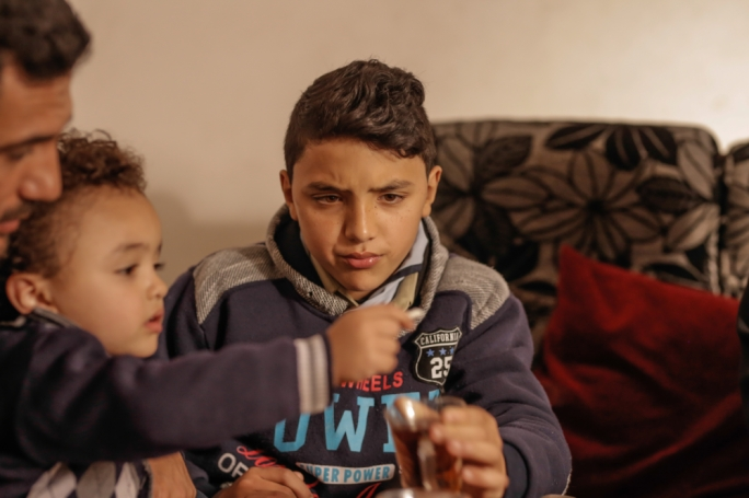 Nabil Mohammed Madhi, 11, has been suffering from frequent disturbing nightmares ever since his brother Hussein was killed at the Great Return March in Gaza.