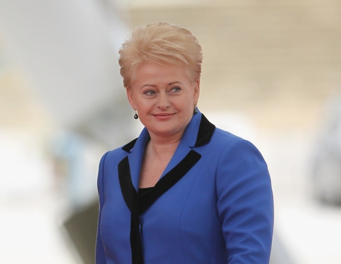 Red Dalia in blue: Grybauskaite's alleged past as a KGB collaborator featured in an unauthorised English translation of a book that Ellul Bonici is accused of distributing in MEPs' pigeonholes without permission