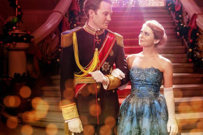 (Maltese?) star-crossed: Ben Lama and Rose McIver in Netflix's attempt to capitalise on seasonal schmaltz