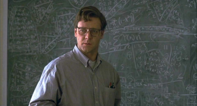 Oscar winning actor Russell Crowe had played John Nash in the 2001 movie 'A Beautiful Mind'