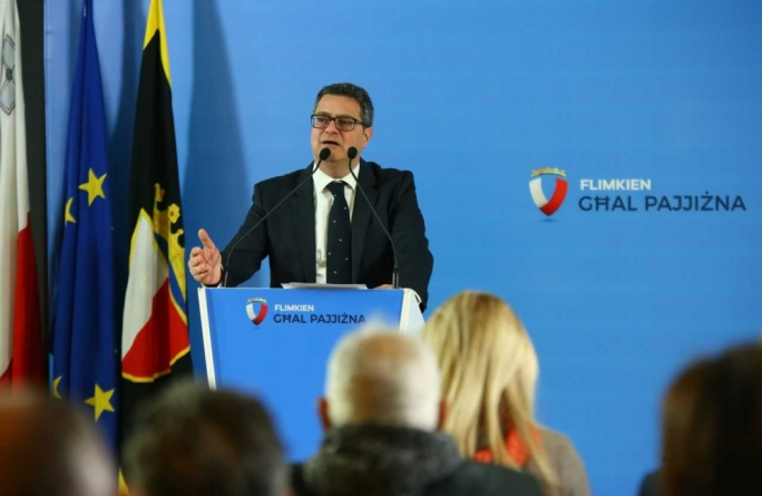 Nationalist Party leader Adrian Delia said his party was committed to ensuring Gozo is giving the status of a region