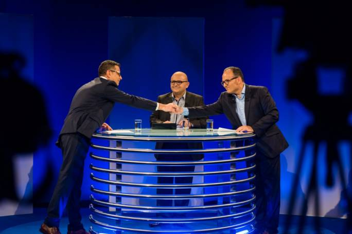 The final debate between Chris Said and Adrian Delia before Saturday's vote