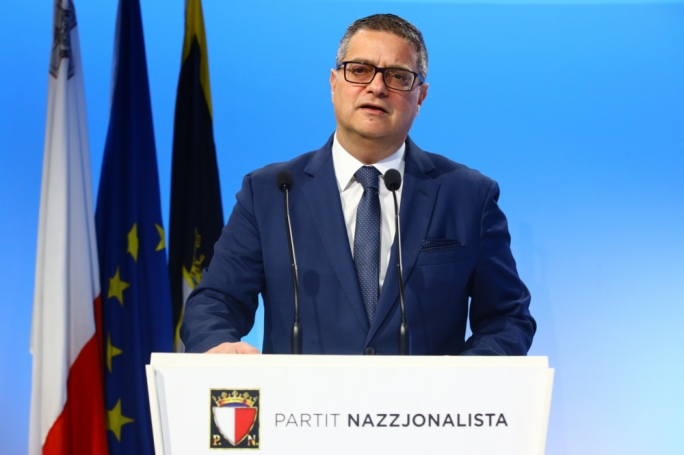 Adrian Delia announces PN parliamentary group reshuffle