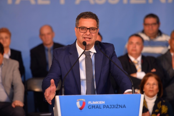 Adrian Delia accused Prime Minister of refusing to debate him on Xarabank this Friday