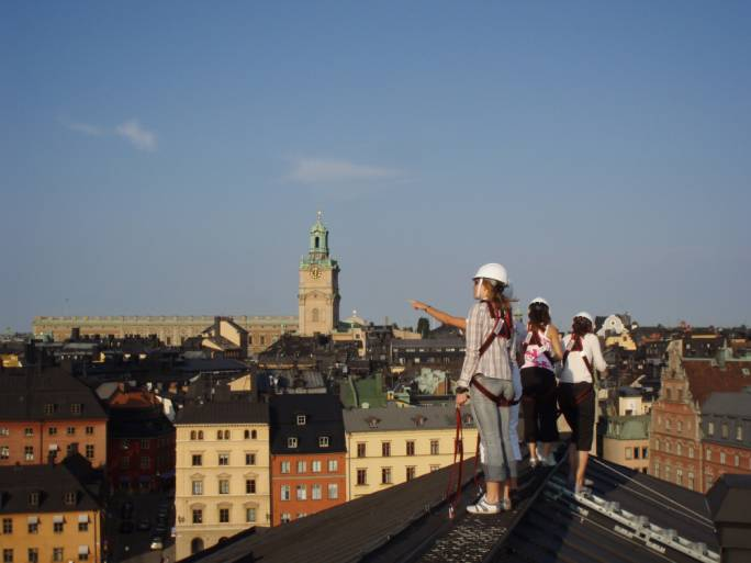 The Rooftop tours offer a unique view of Stockholm