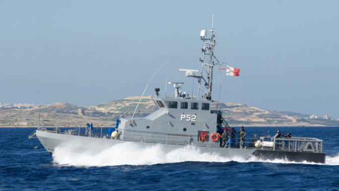 AFM soldiers from patrol boat P52 allegedly sabotaged a dinghy carrying migrants