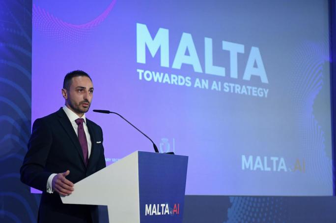 Malta.AI taskforce chairman Wayne Grixti