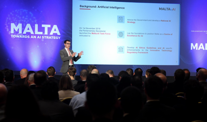 [WATCH] Malta will be a disruptor, not just follower on Artificial Intelligence