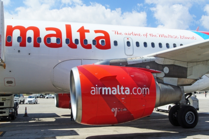 Updated | Flight operation controllers union blames Air Malta for delays, as it strikes over wages
