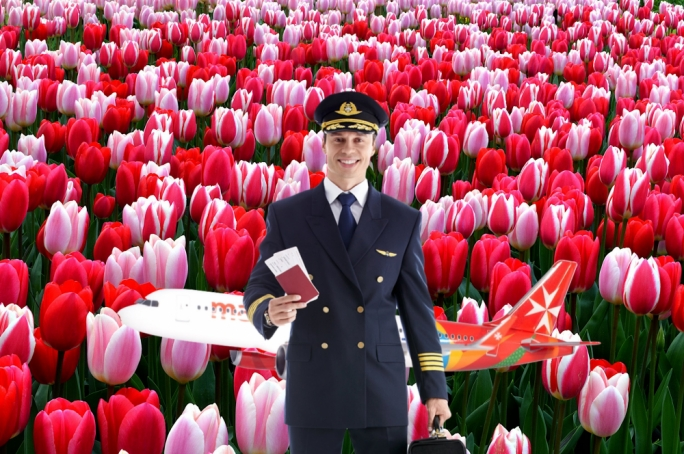 'Tulips from Amsterdam' delay Air Malta flight instructed to take stranded Palermo passengers