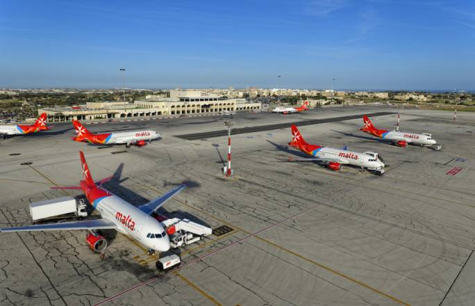 The transfer of Air Malta's landing and take-off slots at the Heathrow and Gatwick airports to Malta Air Travel Limited (MATL), a government company which leases the slots back to the national airline, has allowed Air Malta to receive €33 million in cash for its summer slots alone in 2018
