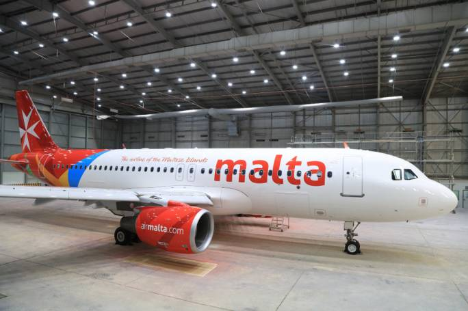 Air Malta adds ninth aircraft to fleet