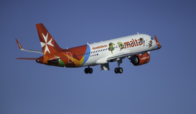 Air Malta registers 35% increase in passengers during August