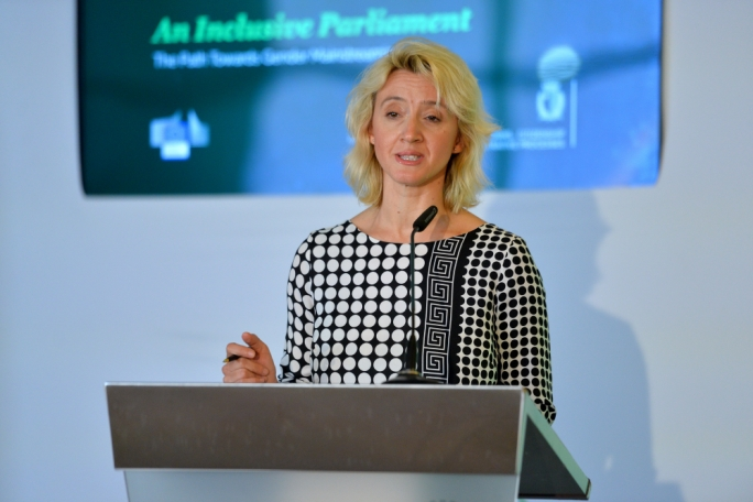 Alja Van Heel said she was struck by the incredible precision and detail in the governent's gender equality strategy document. (Photo: James Bianchi/MediaToday)